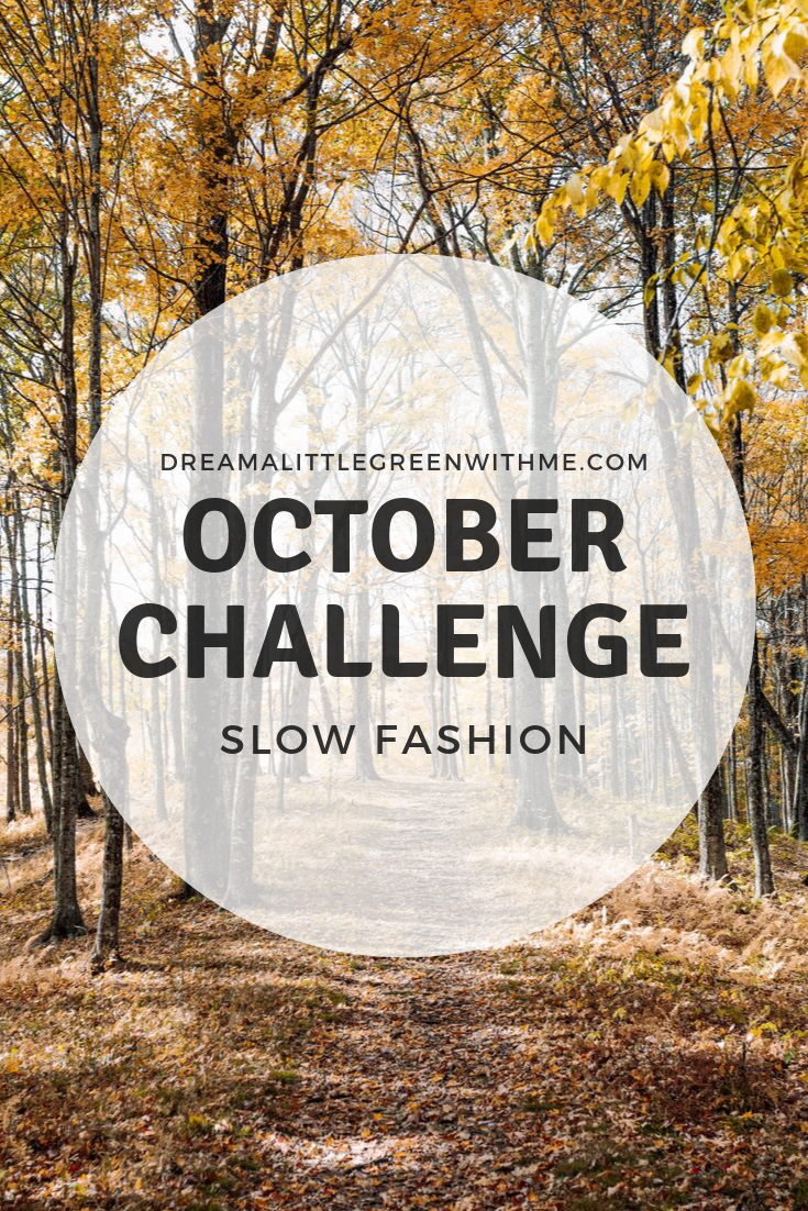 October Challenge: Slow Fashion