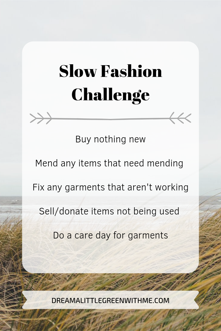 Slow fashion challenge